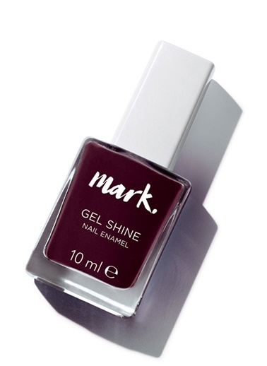 Avon Avon Mark Gel Shine Oje Wine and Dine Me Bordo